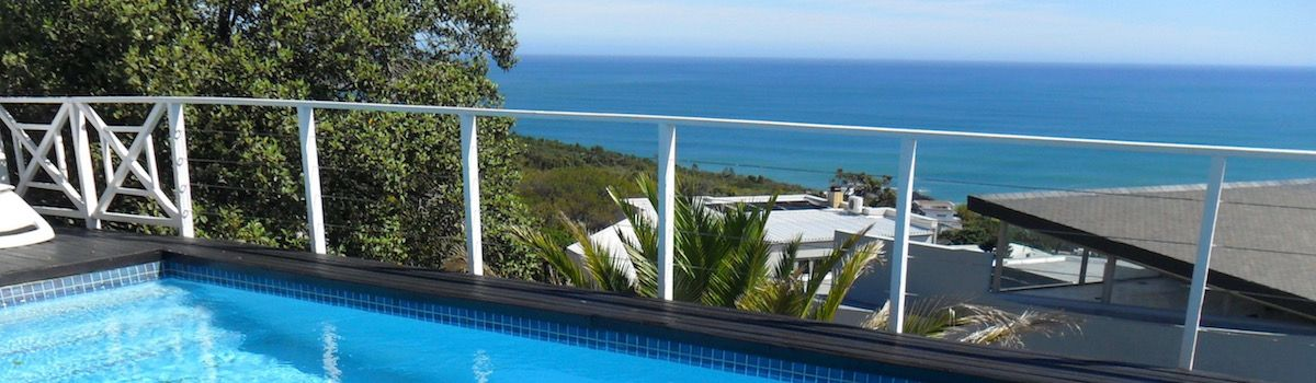 la Baia Camps Bay pool with view