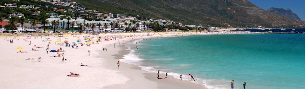 Camps Bay la Baia Beach