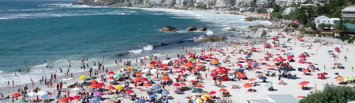 Clifton Beach la Baia Cape Town Camps Bay