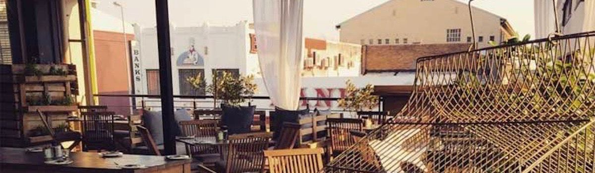 La Bottega rooftop bar la Baia Camps Bay luxurious villa rental