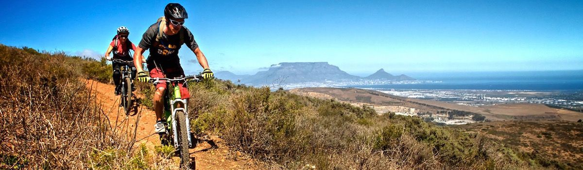 Singletrack MTB tours from la Baia Camps Bay Cape Town luxurious villa rental